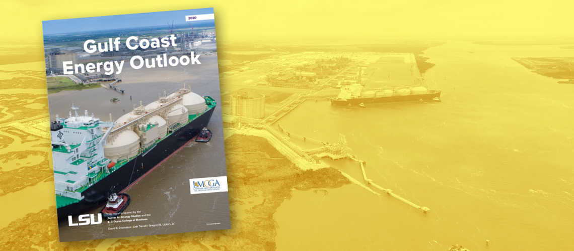 cover of the Gulf Coast Energy Outlook