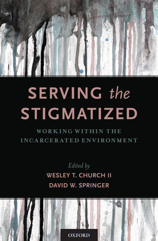 "book cover of ""serving the stigmatized"""